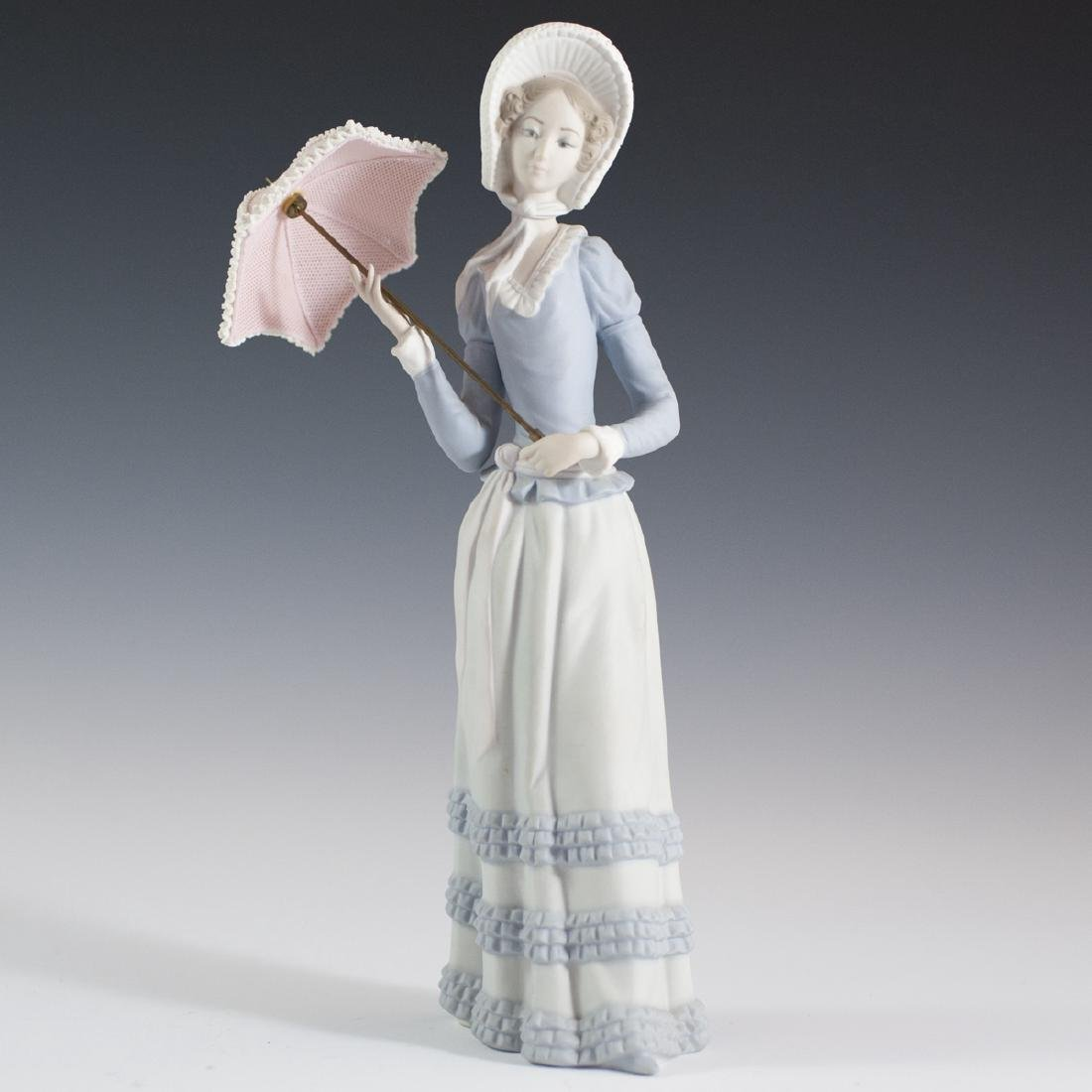 "Lladro Porcelain ""Aranjuez Little Lady"" Figurine"