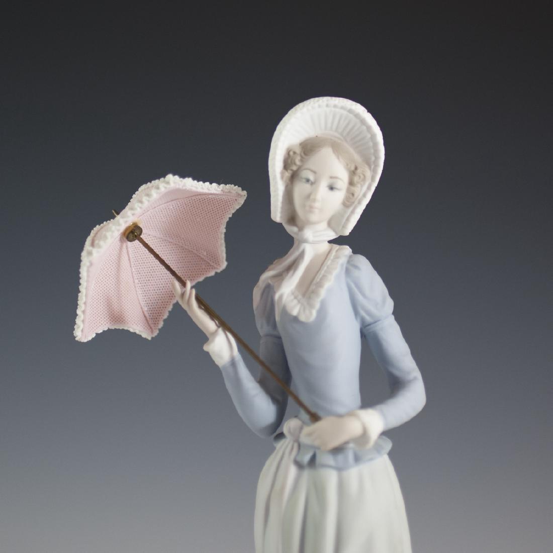 "Lladro Porcelain ""Aranjuez Little Lady"" Figurine - 2"
