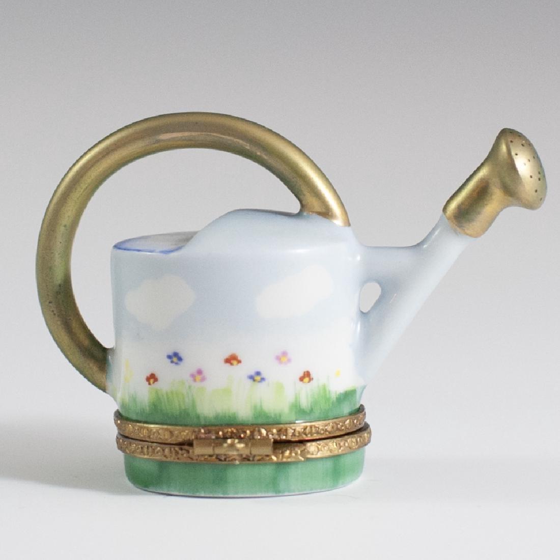 Limoges Porcelain Trinket Box - 2