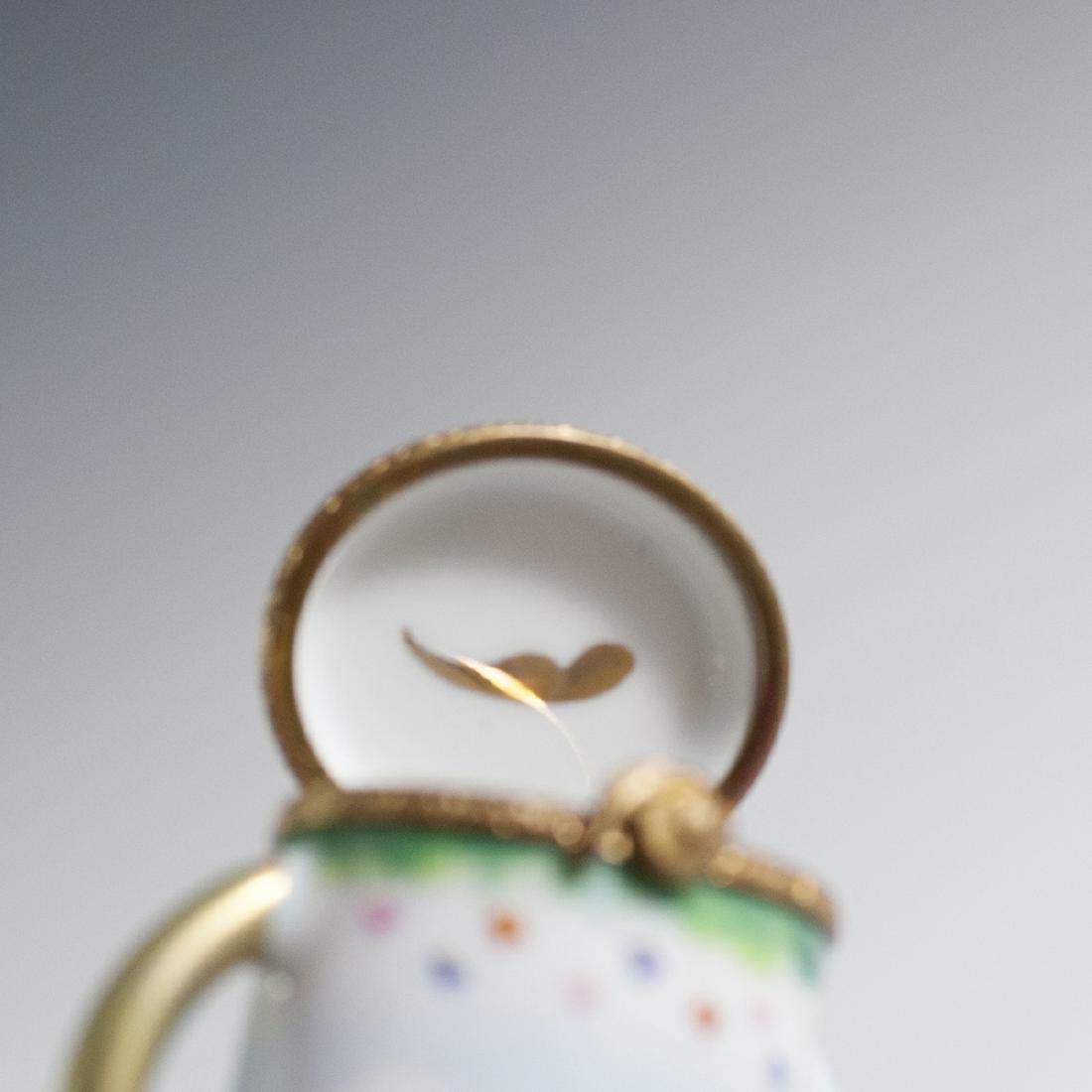 Limoges Porcelain Trinket Box - 4