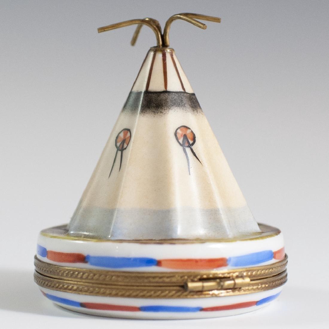 La Gloriette Limoges Porcelain Trinket Box - 2