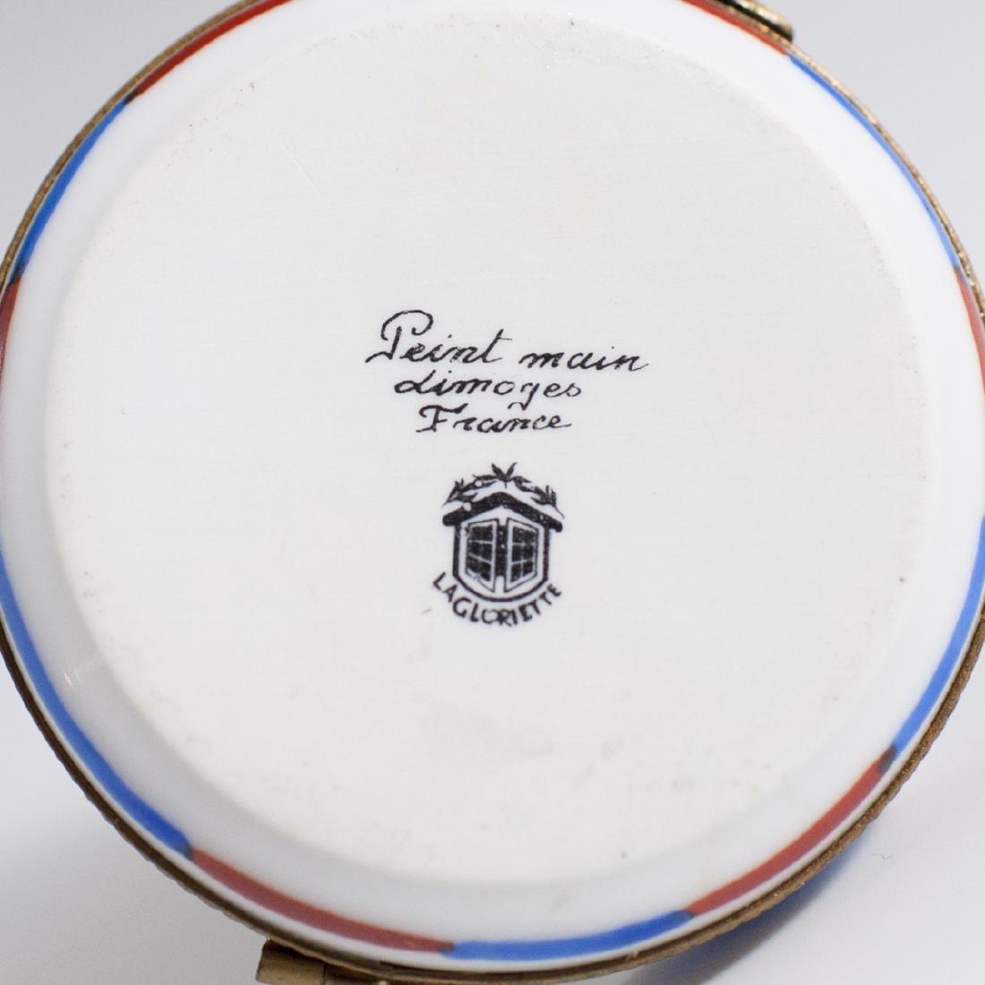 La Gloriette Limoges Porcelain Trinket Box - 3