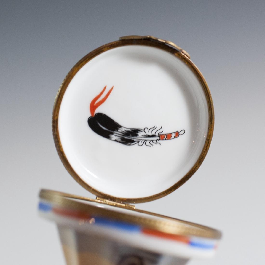 La Gloriette Limoges Porcelain Trinket Box - 4
