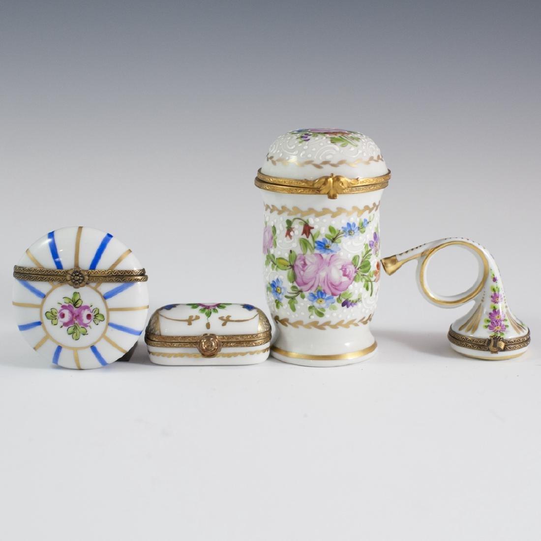 Limoges Porcelain Trinket Boxes