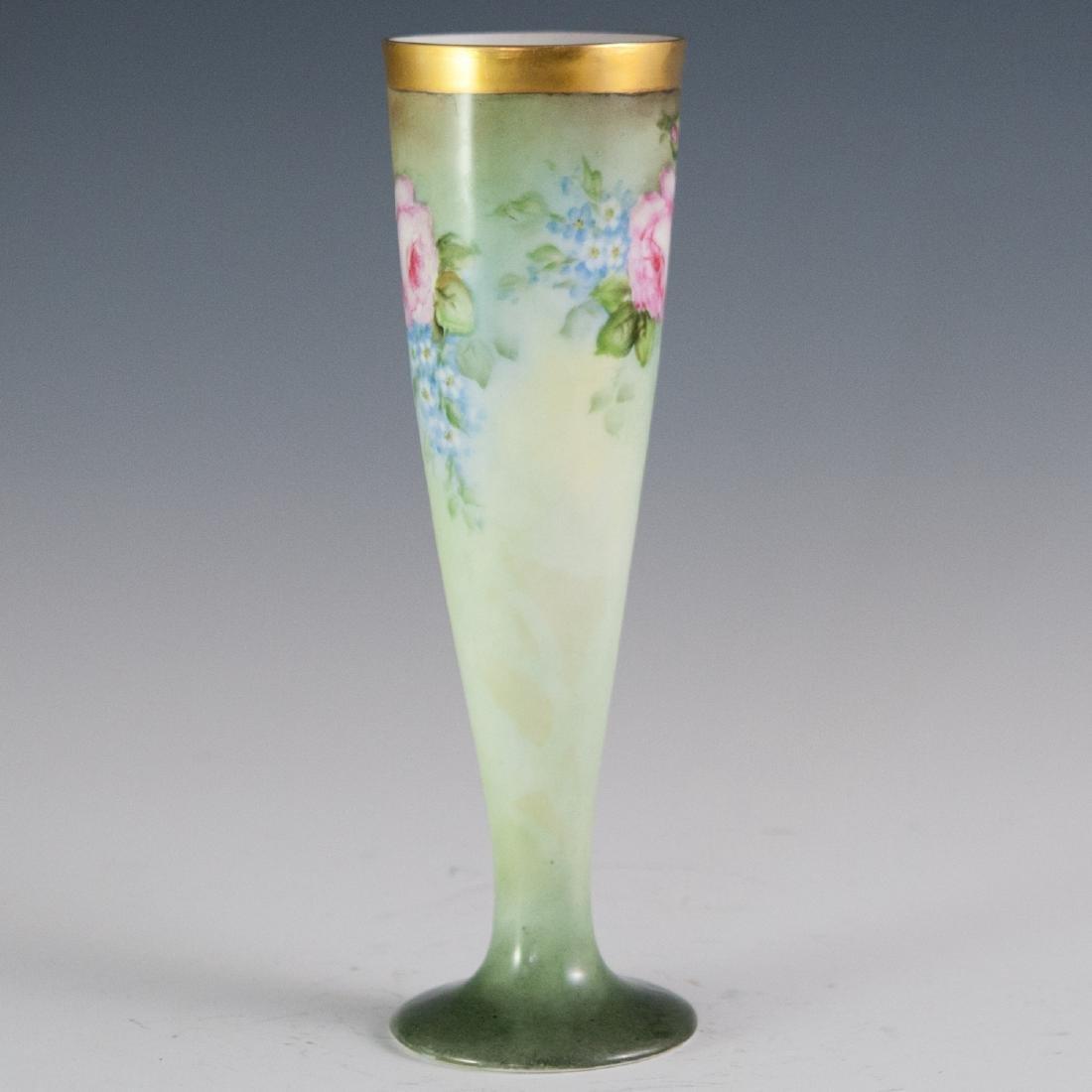 Oscar & Edgar Gutherz Royal Austria Porcelain Vase - 2