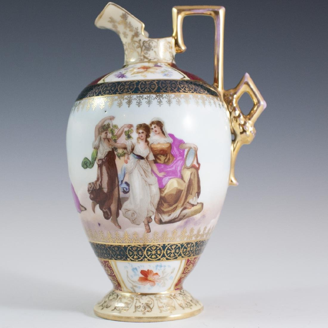 Royal Vienna Porcelain Ewer