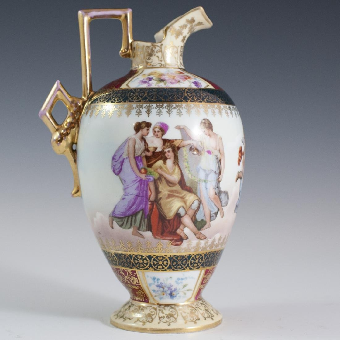 Royal Vienna Porcelain Ewer - 2