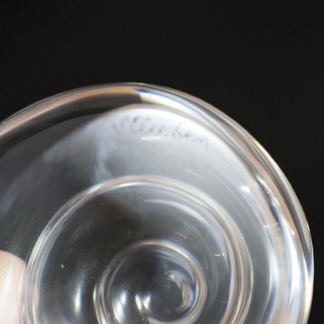 Steuben Crystal Shell Paperweight - 3