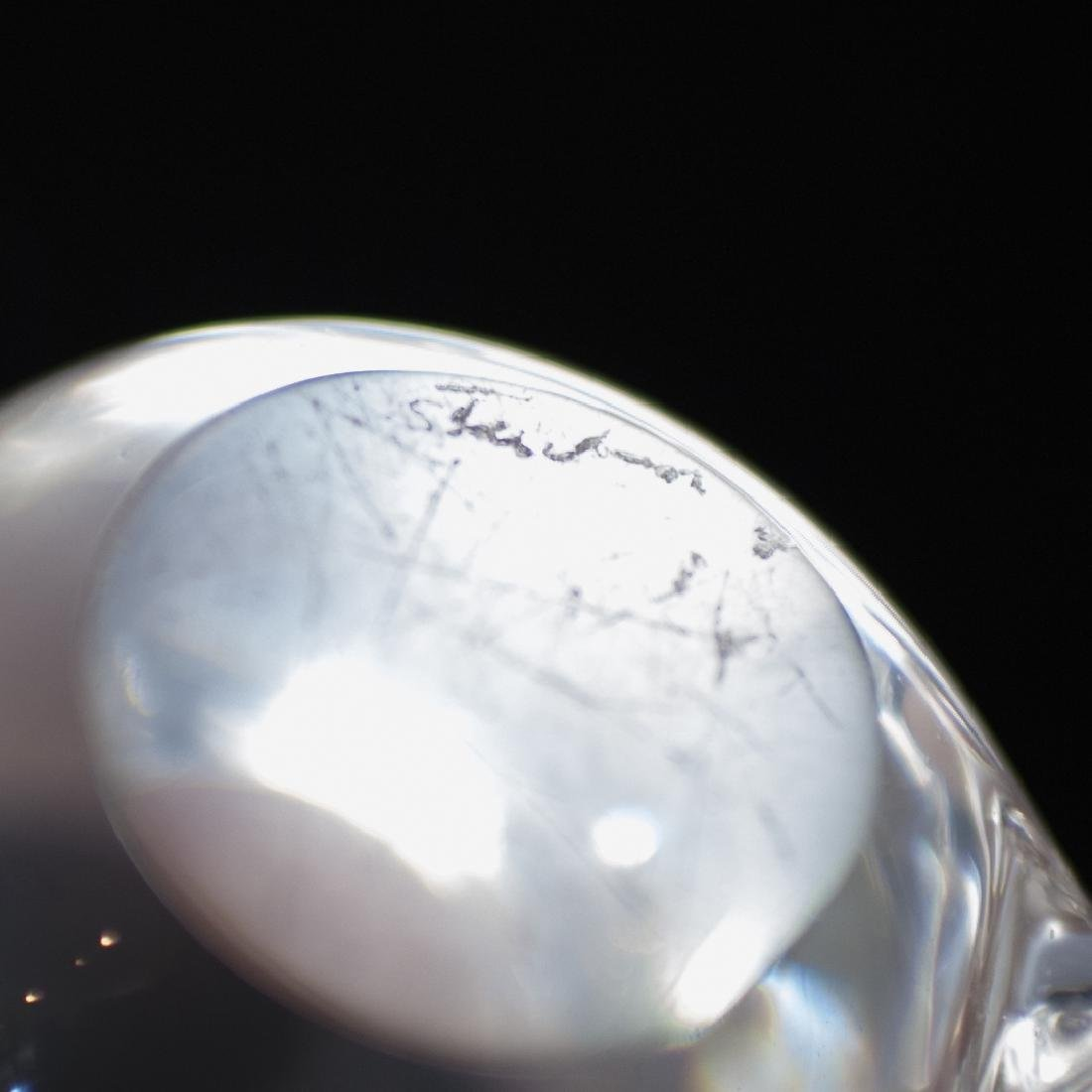 Steuben Crystal Penguin Paperweight - 2