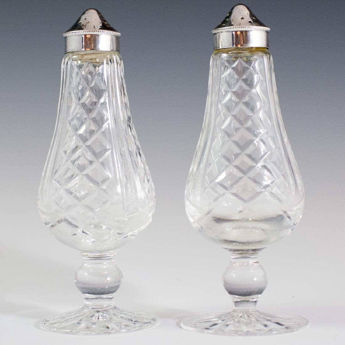 Waterford Crystal Salt & Pepper Shakers