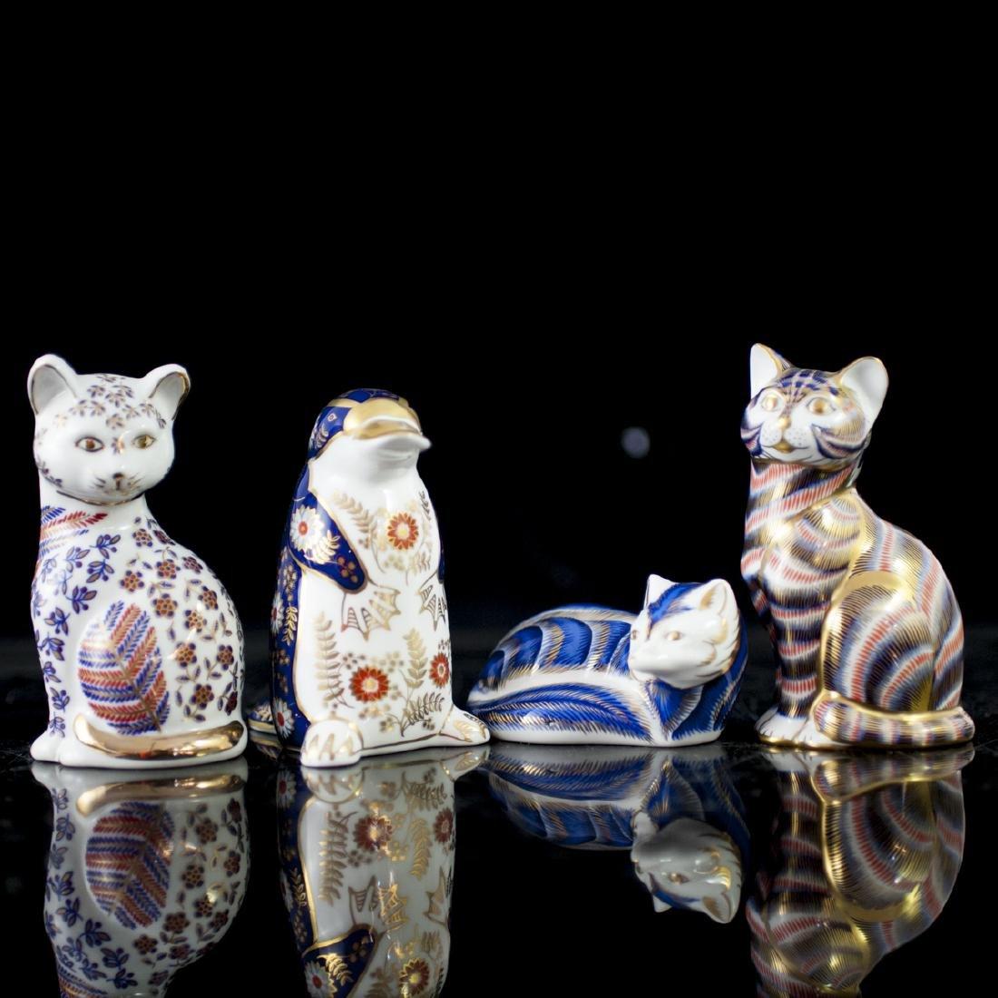Royal Crown Derby Bone China Figurines