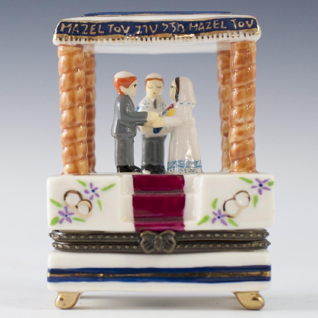 Jacob Rosenthal Limoges Style Porcelain Trinket Box