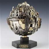 Frank Meisler Jerusalem Judaica Sculpture