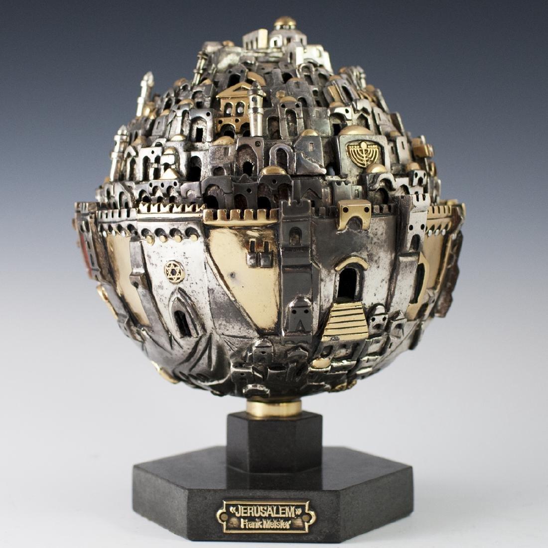 "Frank Meisler ""Jerusalem"" Judaica Sculpture"