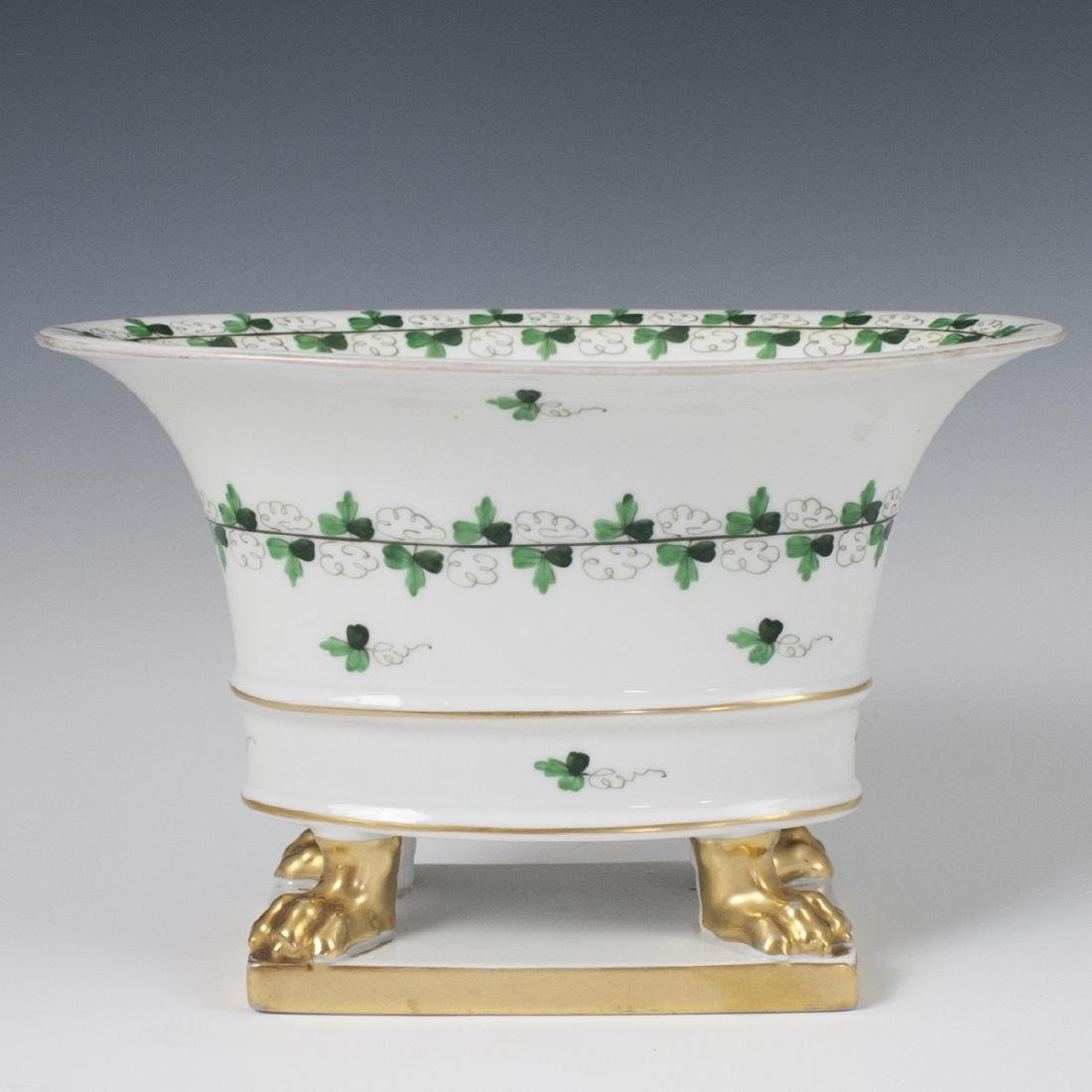 """Herend Centennial """"Persil"""" Porcelain Footed Planter"""