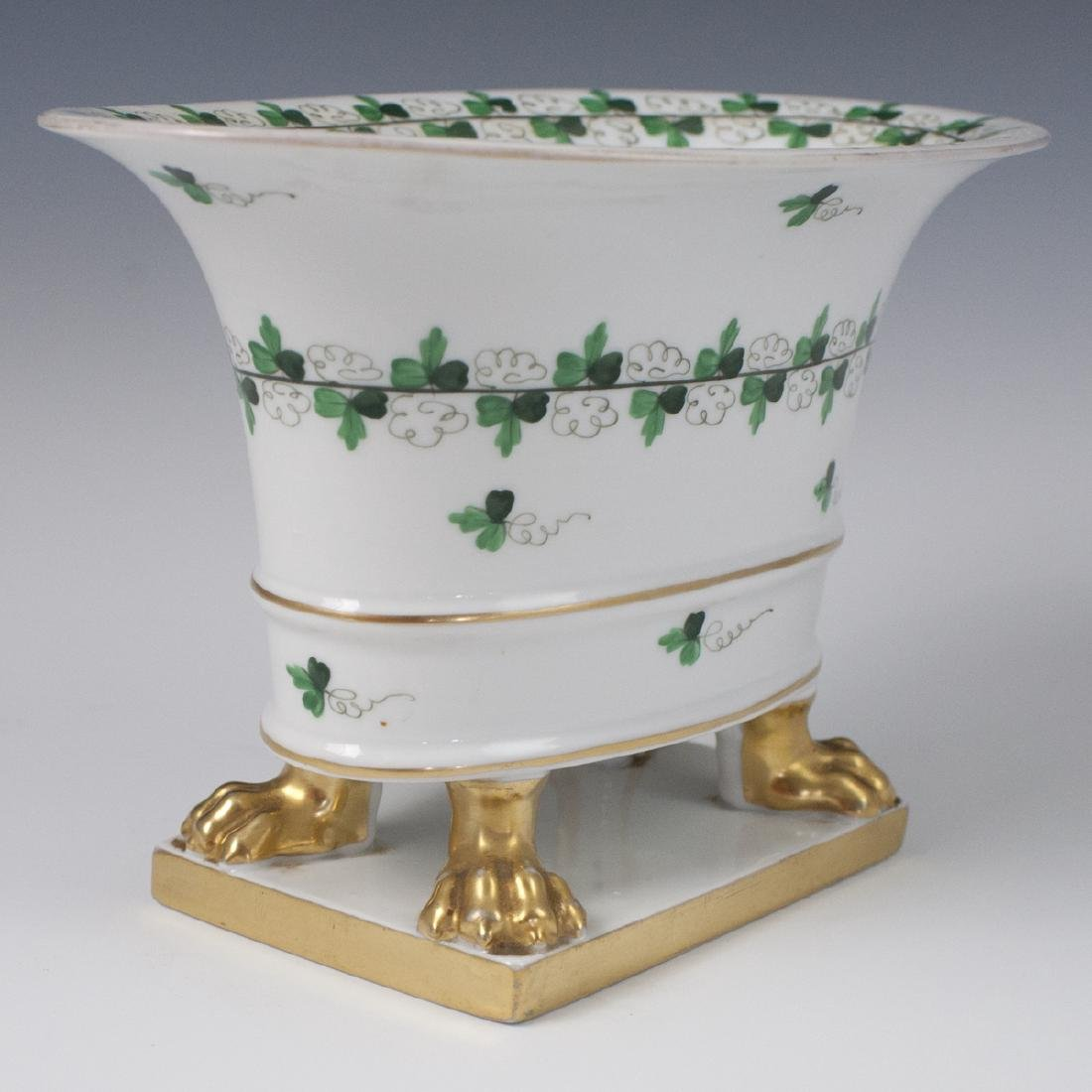 """Herend Centennial """"Persil"""" Porcelain Footed Planter - 4"""