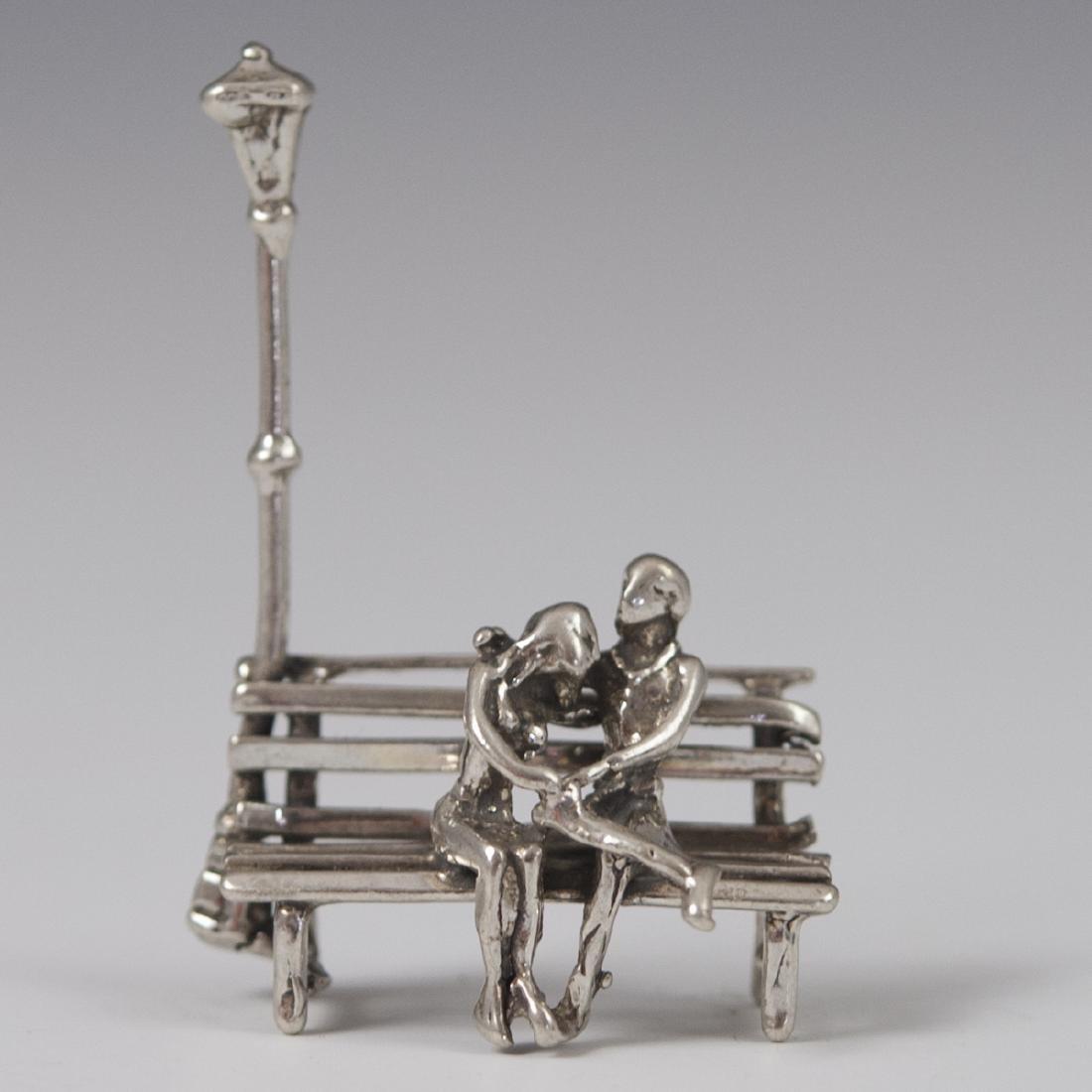 Italian 800 Silver Figurine