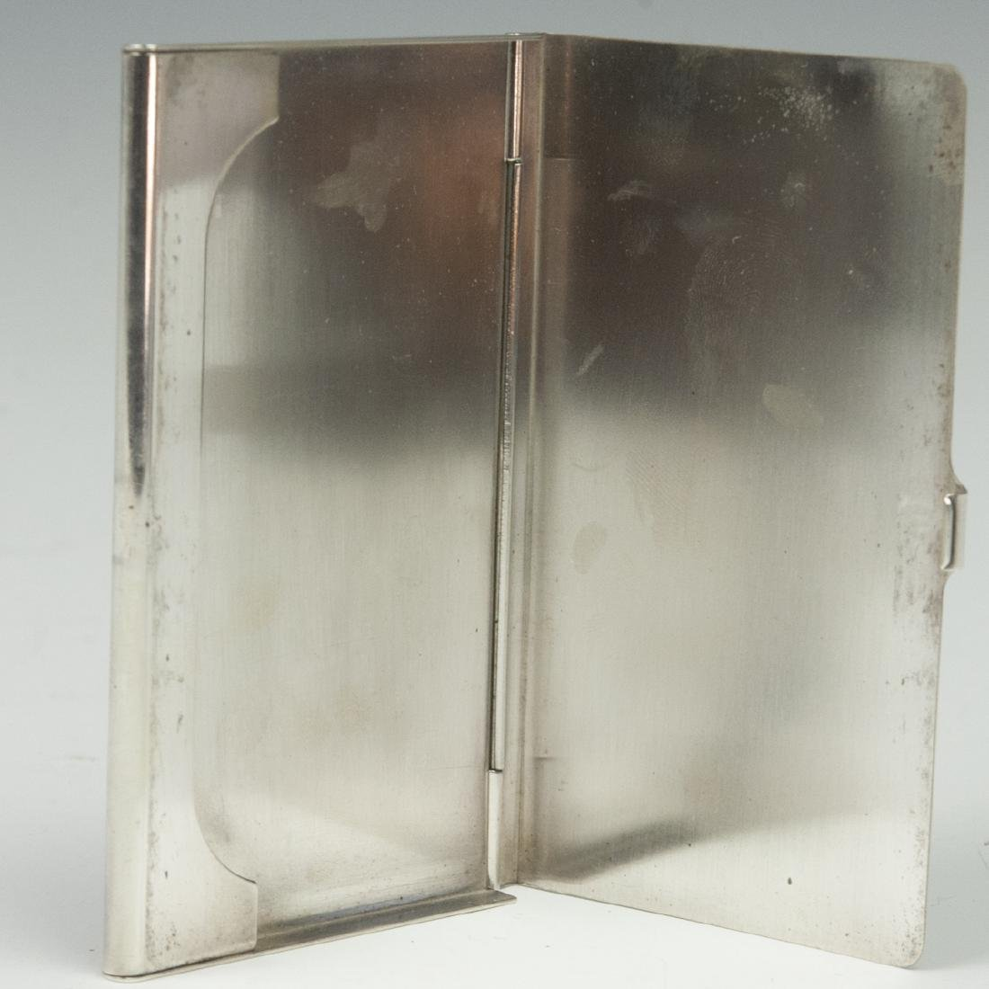 Cartier Sterling Business Card Case - 4