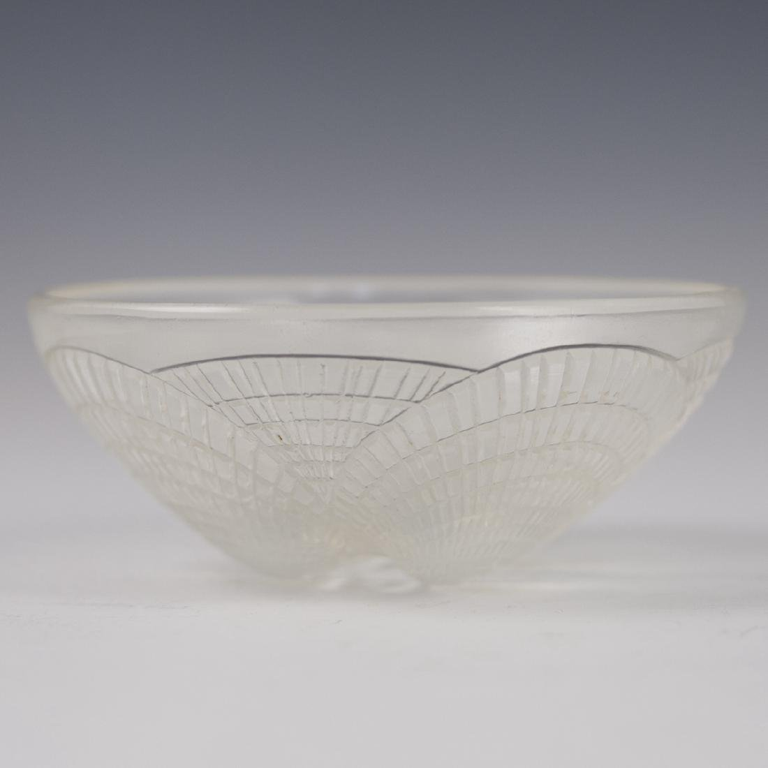 """Rene Lalique """"Coquilles No.2"""" Opaline Crystal Bowl"""