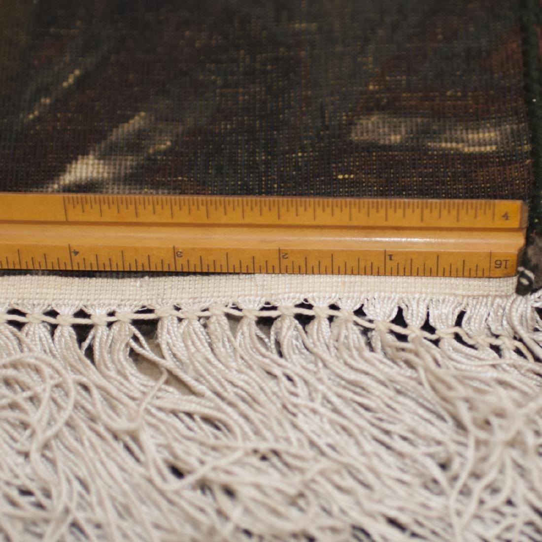 Persian Wool Silk Oriental Rug - 5