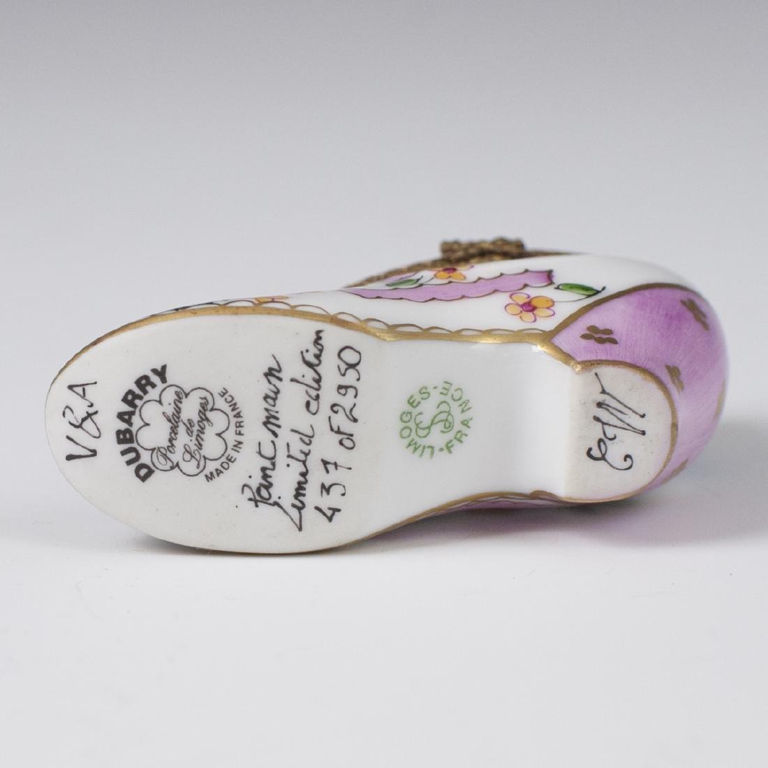 Dubarry Limoges Porcelain Pill Box - 3