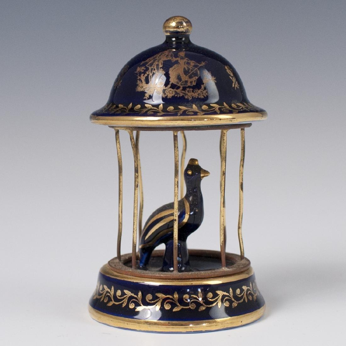 Limoges Porcelain Bird Cage