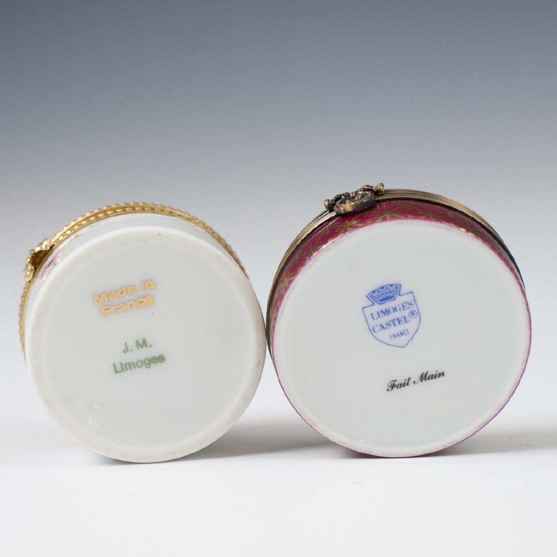 Limoges Porcelain Pill Boxes - 2