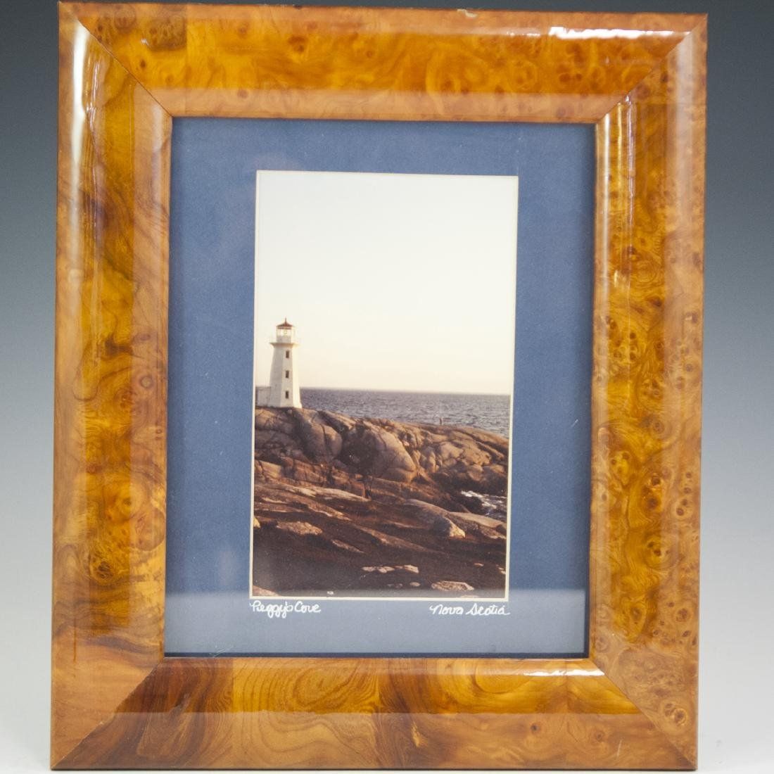 Framed Photograph of Peggy's Cove Nova Scotia