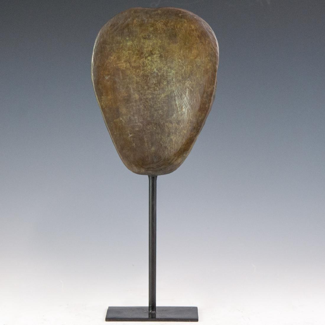 Decorative Bronze Mask Sculpture - 2