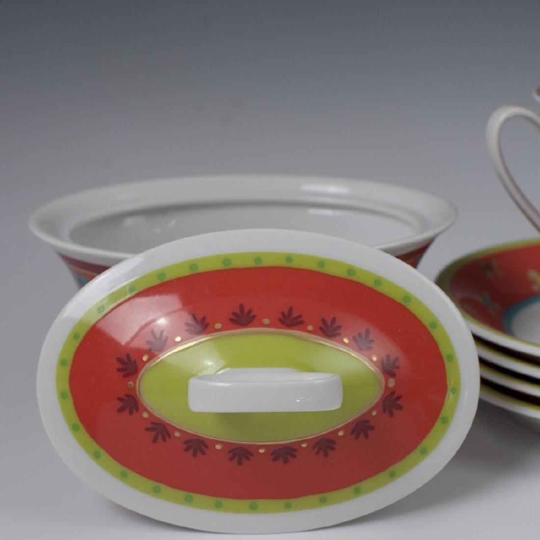 "Rosenthal Porcelain ""Mamounia"" Set - 4"