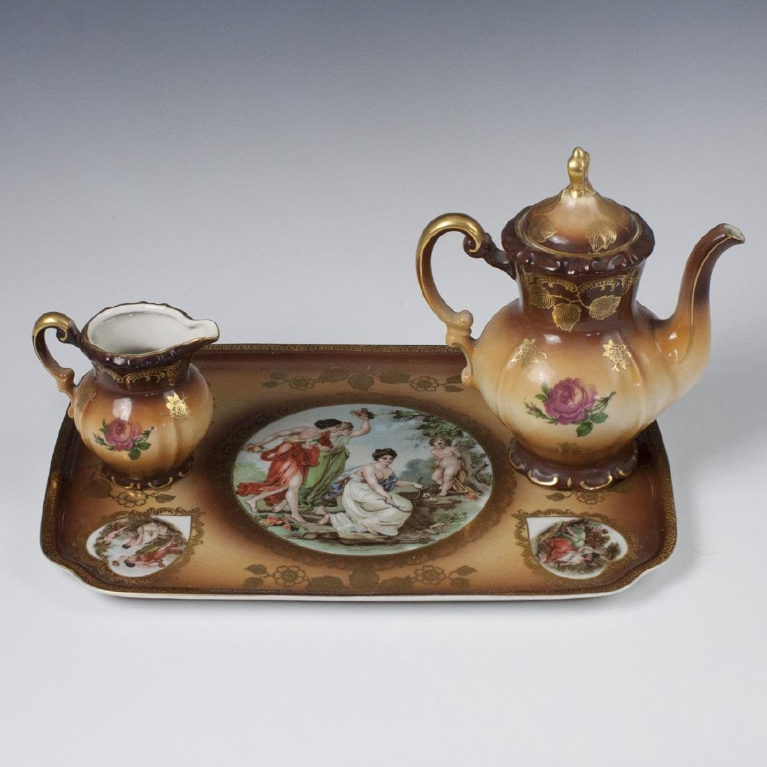 Mitterteich Bavaria Porcelain Tea Set