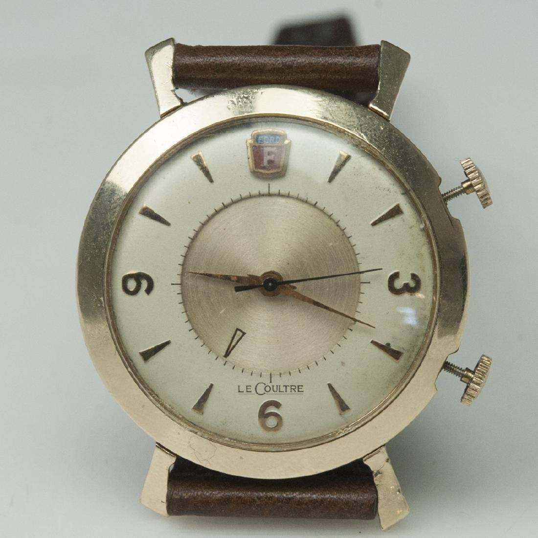 Vintage Jaeger Lecoultre Memovox Henry Ford Watch