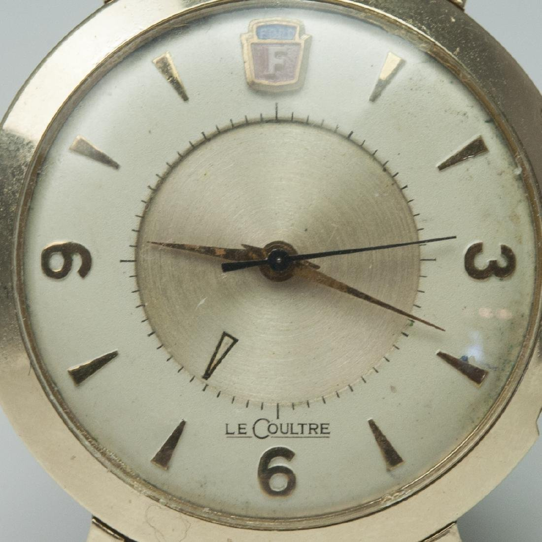 Vintage Jaeger Lecoultre Memovox Henry Ford Watch - 2