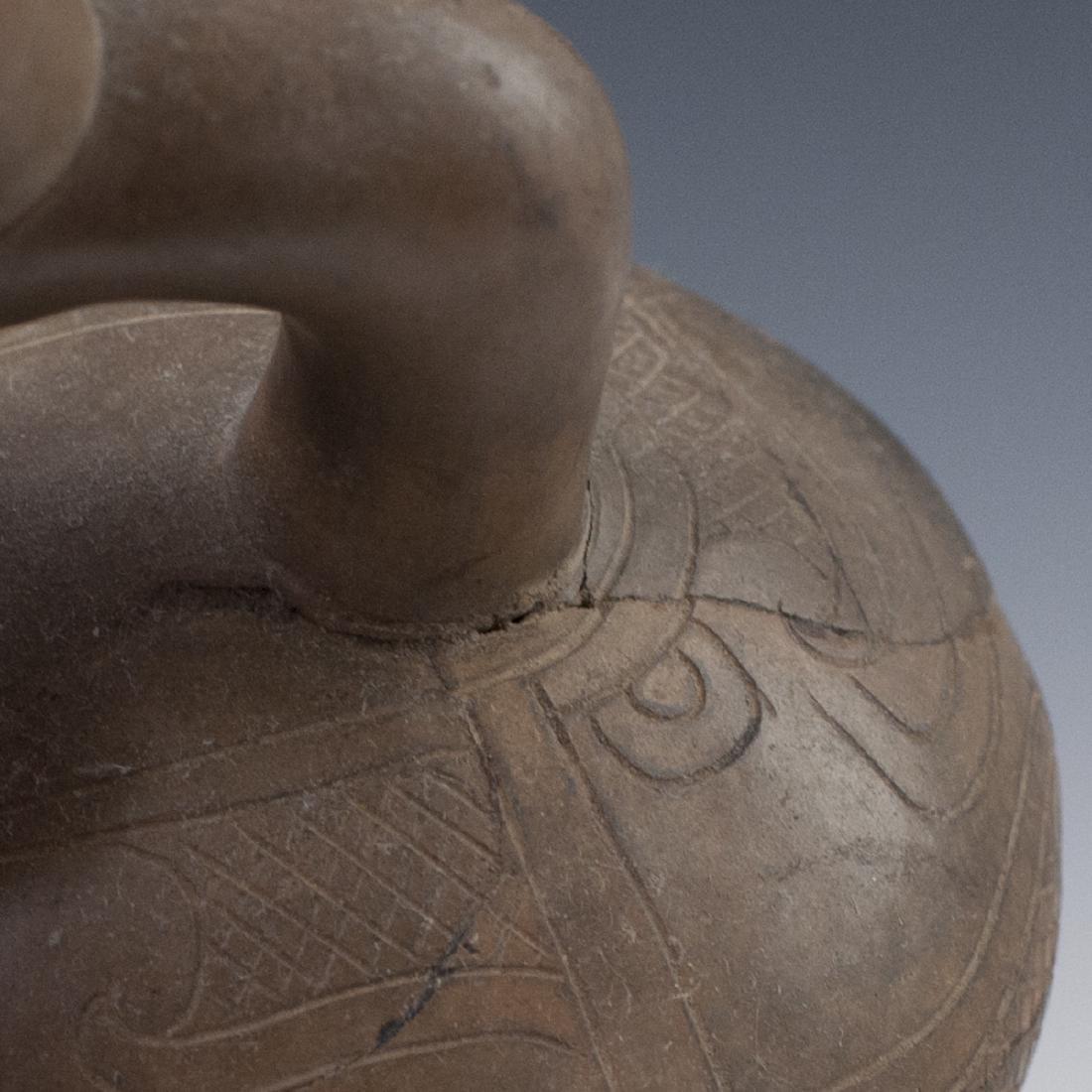 Pre-Columbian Chavin/Cupisnique Stirrup Vessel - 5