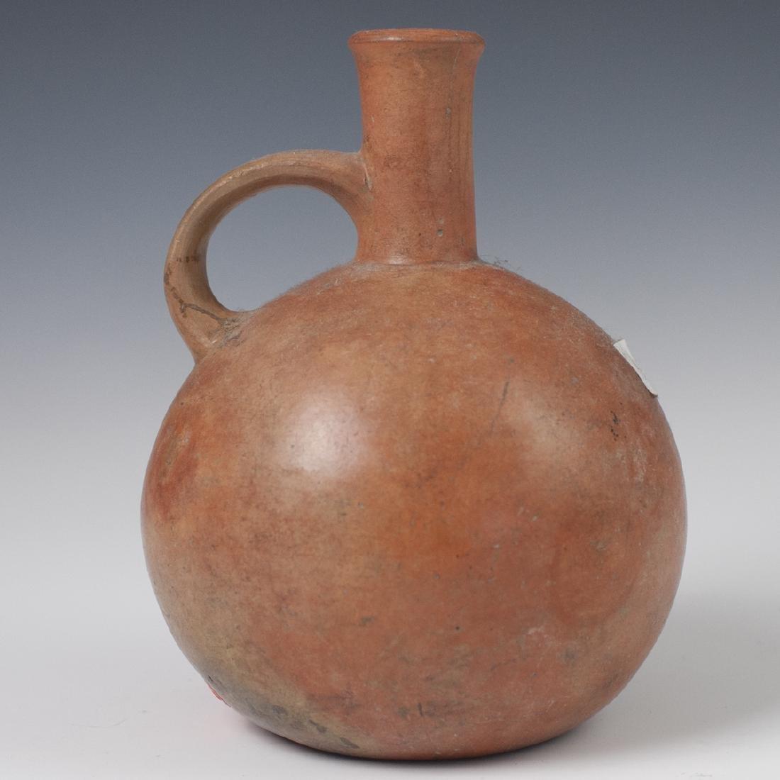 Pre-Columbian Mochica Earthenware Vessel
