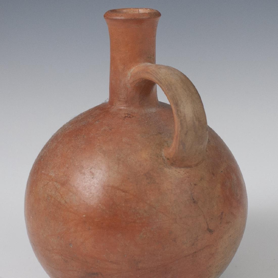 Pre-Columbian Mochica Earthenware Vessel - 3