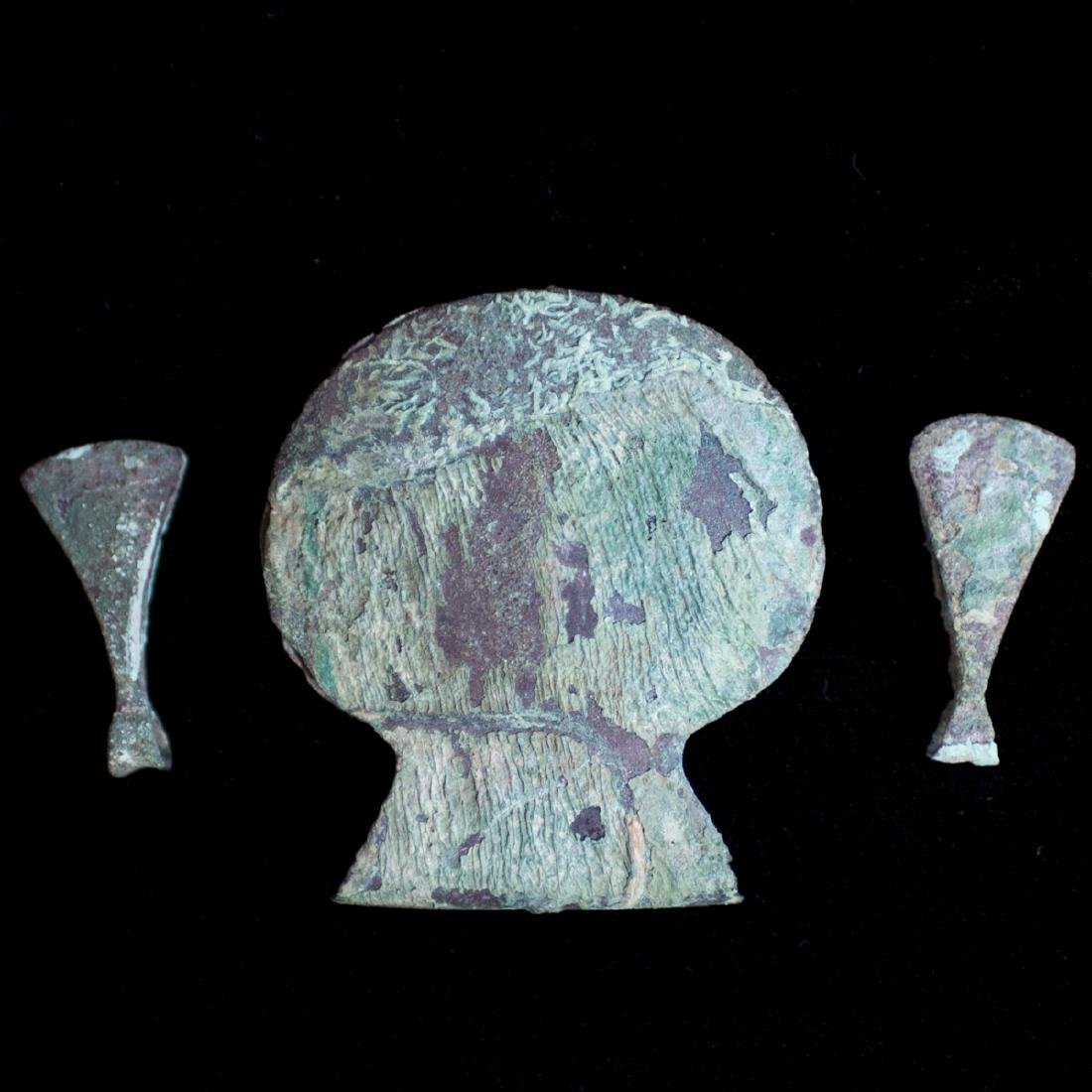 Pre-Columbian Chimu Copper Tweezers
