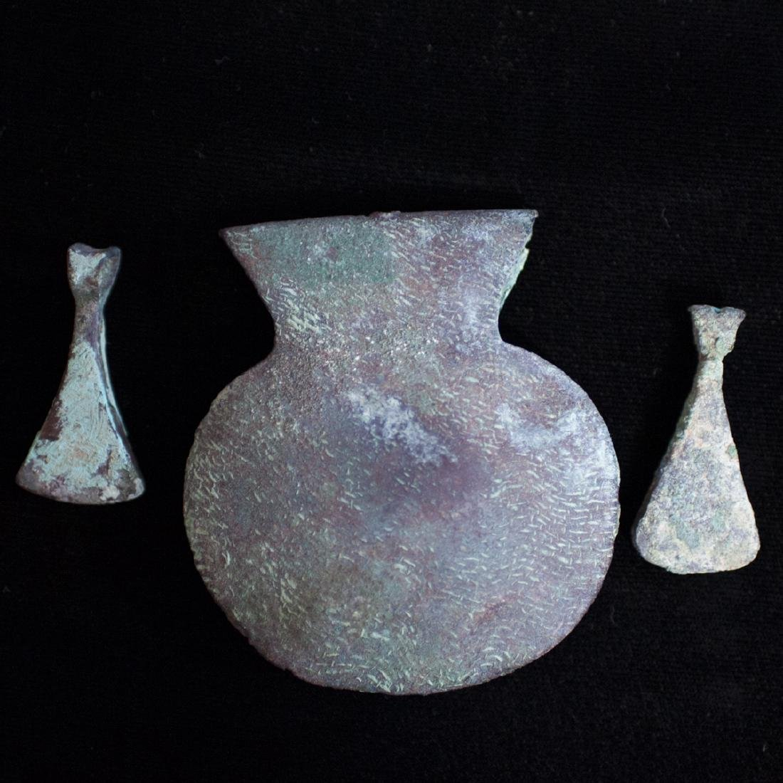Pre-Columbian Chimu Copper Tweezers - 2