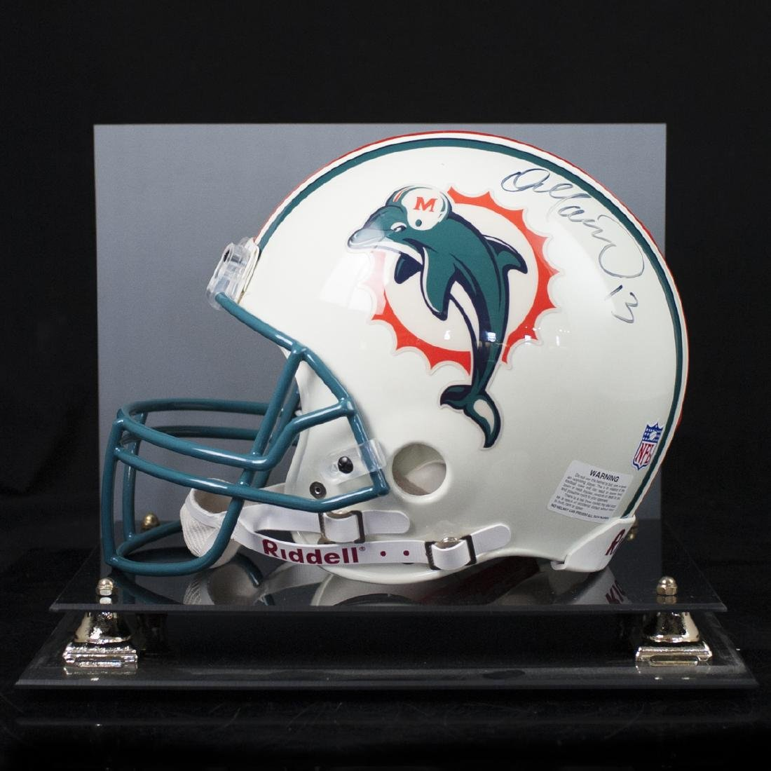 Dan Marino Signed Miami Dolphins Helmet