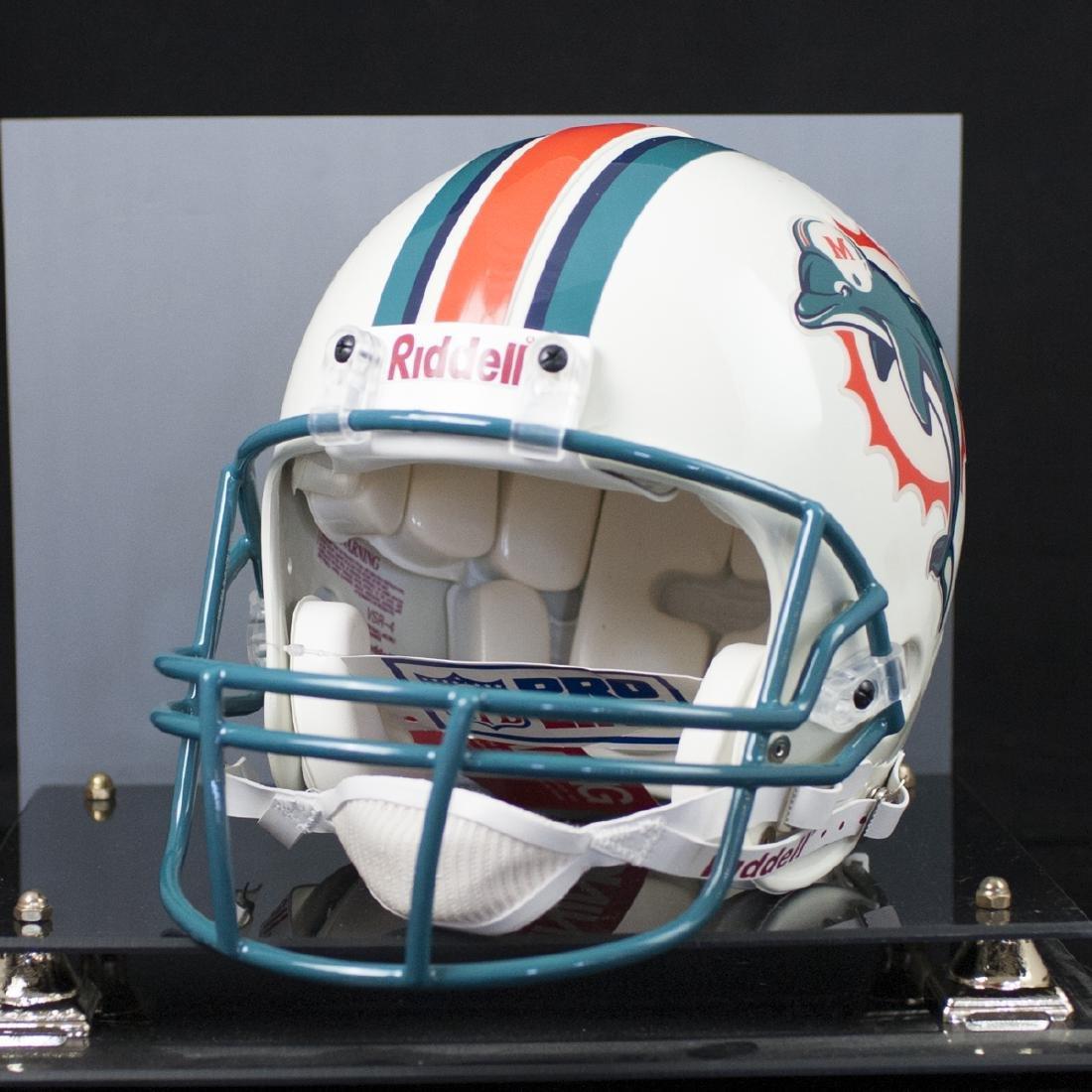 Dan Marino Signed Miami Dolphins Helmet - 3