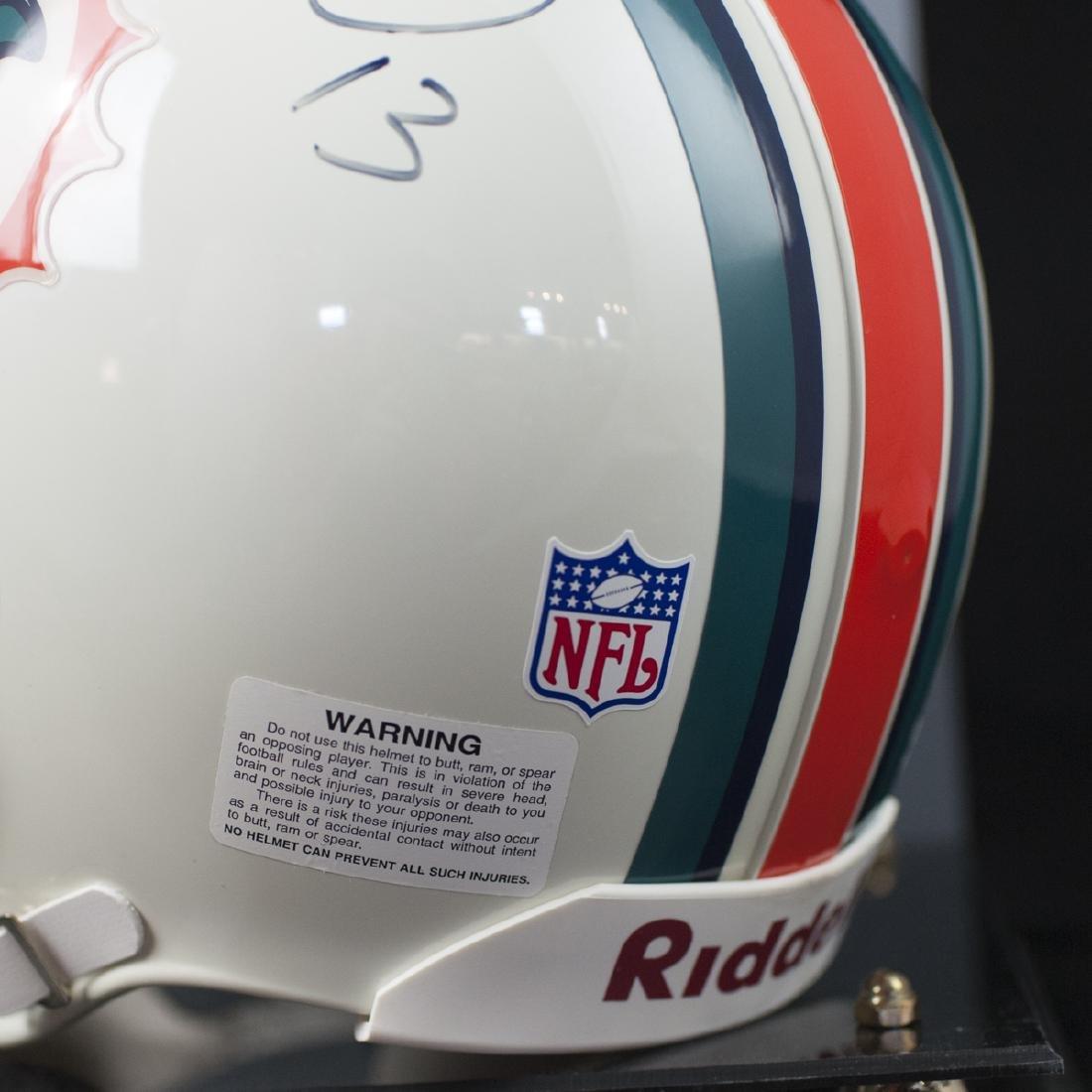 Dan Marino Signed Miami Dolphins Helmet - 4