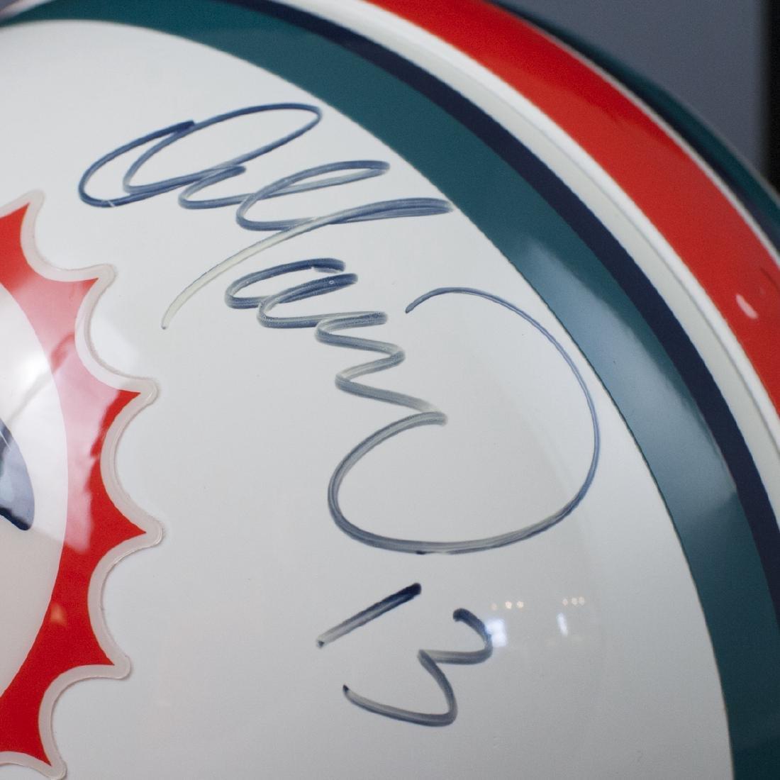 Dan Marino Signed Miami Dolphins Helmet - 5