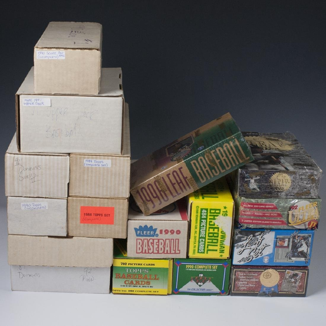Vintage Baseball Card Collection