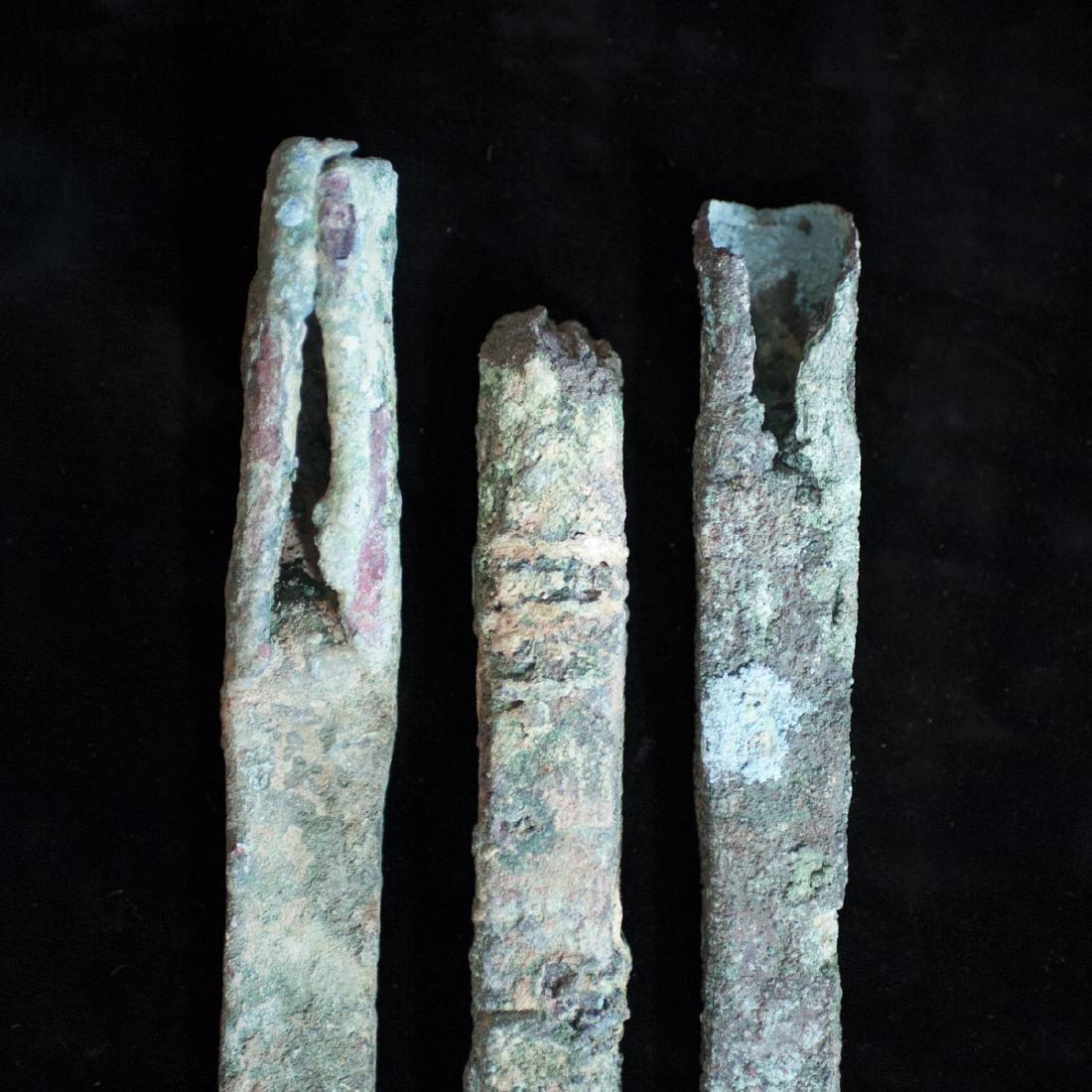 Pre-Columbian Copper Tool Fragments - 2