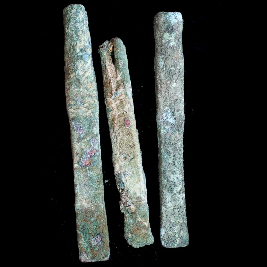 Pre-Columbian Copper Tool Fragments - 3