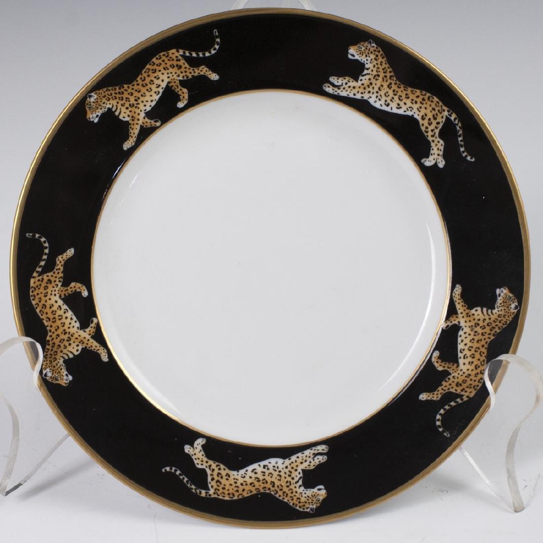 "Chase ""Jaguar Jungle"" Porcelain Butter Plate"