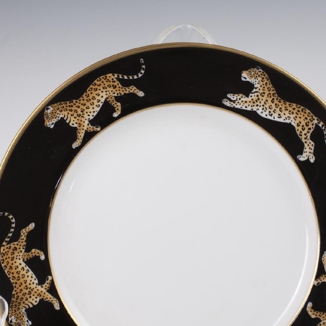 "Chase ""Jaguar Jungle"" Porcelain Butter Plate - 2"