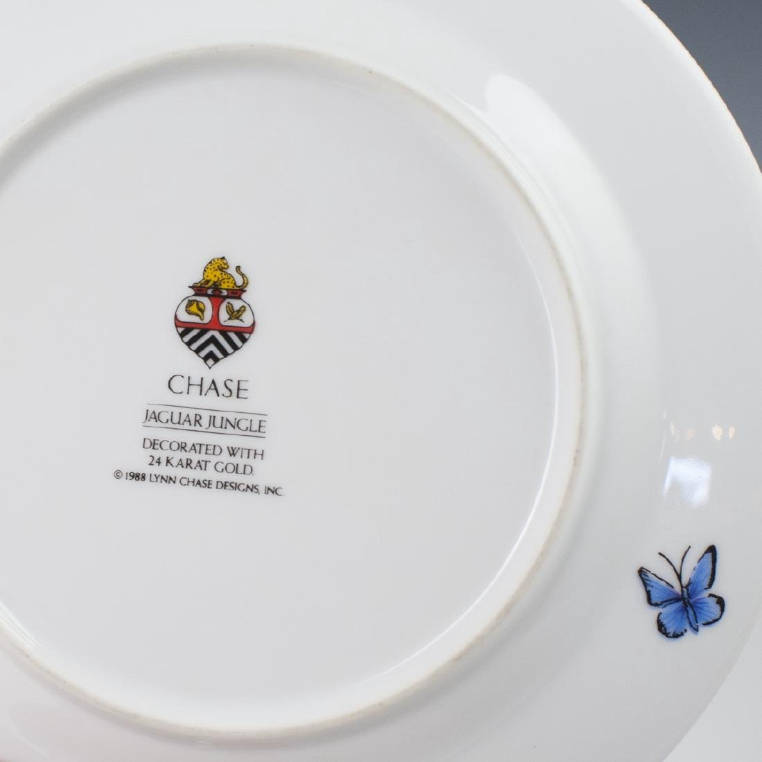 "Chase ""Jaguar Jungle"" Porcelain Butter Plate - 3"