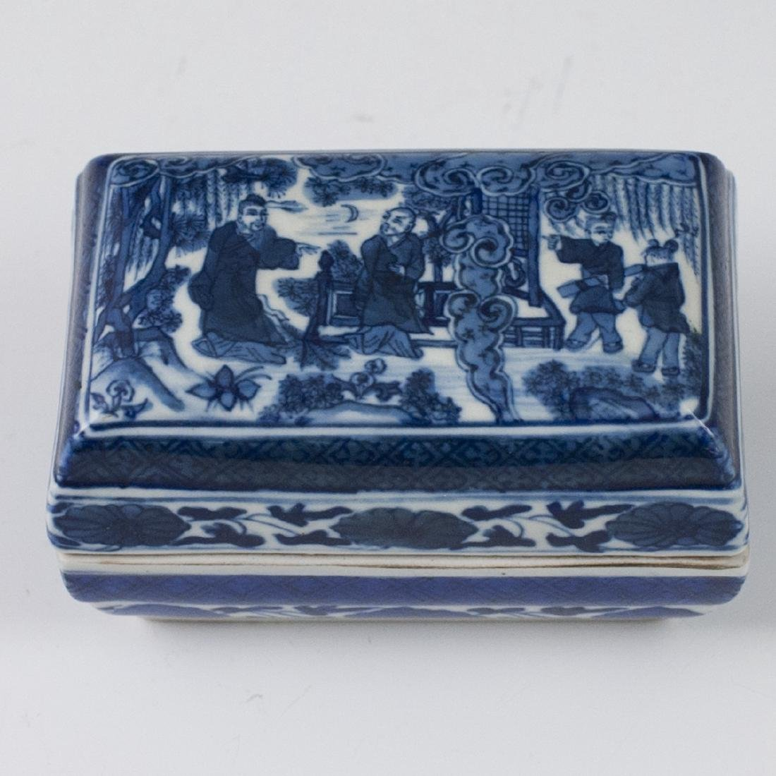 Antique Chinese Porcelain Box - 2