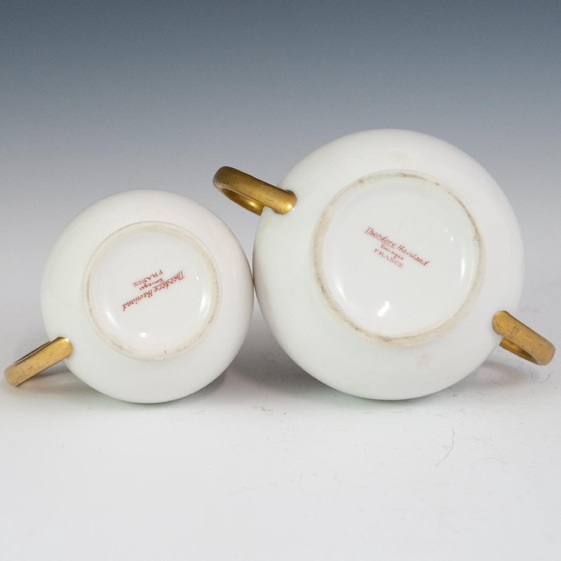 Theodore Haviland Limoges Porcelain Set - 3